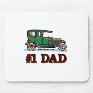 #1 Dad Antique Car Mouse Pad