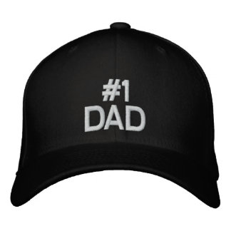 #1 DAD Baseball Cap for Father's Day