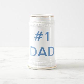 #1 dad beer stein