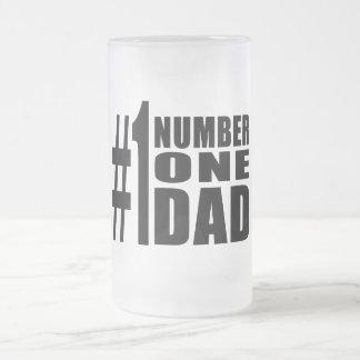 1 Dad Birthdays Christmas Number One Dad Mugs