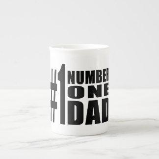 #1 Dad Birthdays & Christmas : Number One Dad Tea Cup