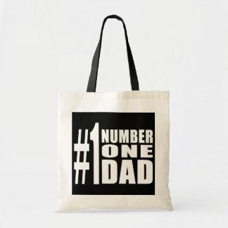 #1 Dad Birthdays & Christmas : Number One Dad Tote Bag