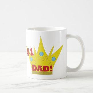 #1 Dad Classic White Coffee Mug