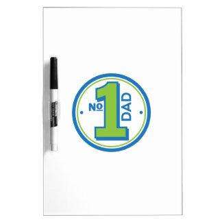 #1 Dad Dry-Erase Board