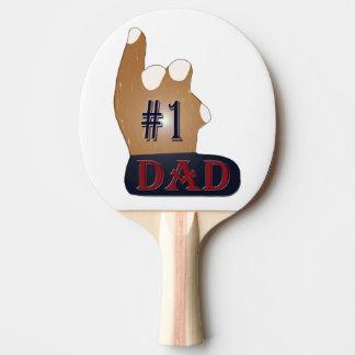 #1 Dad Ebony Teak