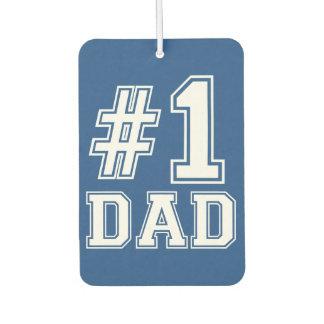 #1 Dad funny car air freshner Air Freshener