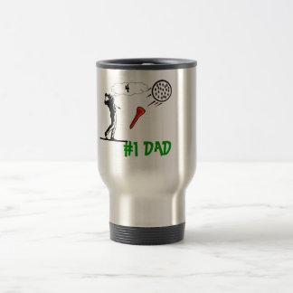 # 1 dad golf coffee mug