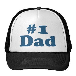 #1 Dad Trucker Hats