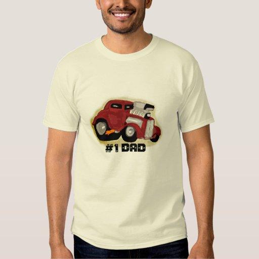 #1 Dad Hotrod T-Shirt