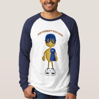 #1 Dad - III golden Tee Shirt