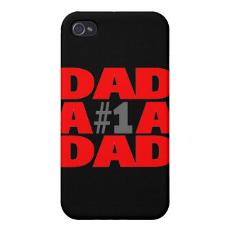 #1 Dad iPhone 4/4S Cover