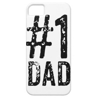 #1 Dad iPhone SE + iPhone 5/5S, Barely There Phone iPhone SE/5/5s Case