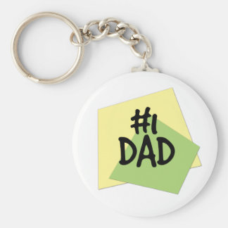 #1 Dad Keychain