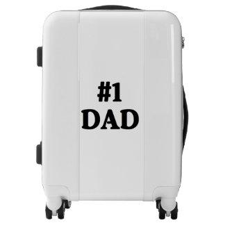 """""""#1 Dad"""" Luggage"""
