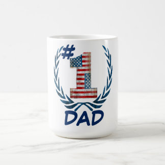# 1 Dad, Mom .... Coffee Mug