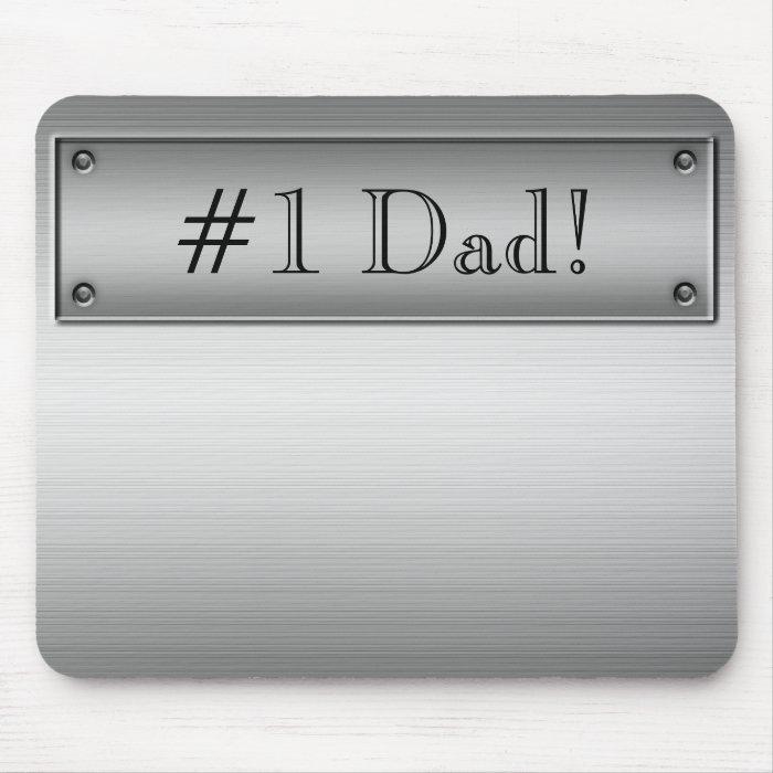 #1 Dad! Mousepad