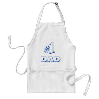 #1 DAD (Number One Dad) Apron