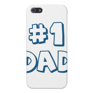 #1 Dad Number One Dad Father's Day Gifts iPhone 5/5S Cases
