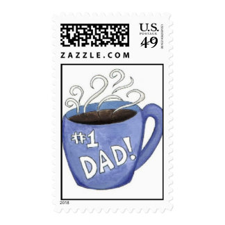 #1 Dad Postage