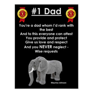#1 Dad - Poster