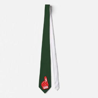#1 Dad - Red Tie