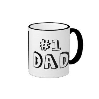 #1 DAD RINGER COFFEE MUG