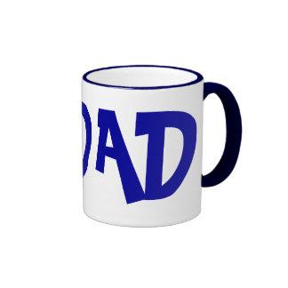 #1 Dad Ringer Mug