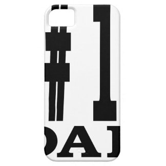 #1 Dad Shirt.png iPhone 5 Cases