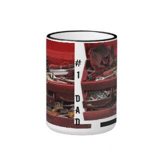 #1 Dad Toolbox Mug