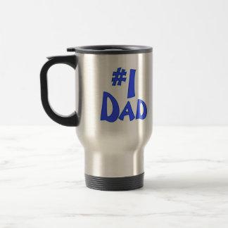 #1 DAD TRAVEL MUG