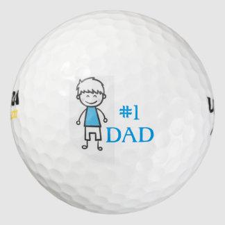 #1 DAD/Wilson Ultra 500 Distance Golf Ball/Boy Golf Balls