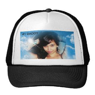 #1 DADDY MESH HATS
