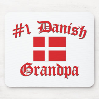 #1 Danish Grandpa Mouse Pad
