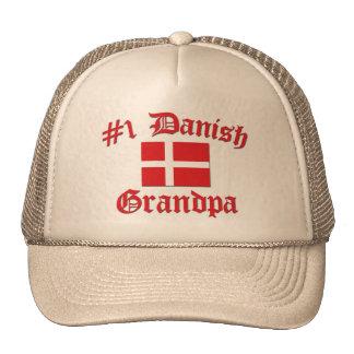 #1 Danish Grandpa Trucker Hat