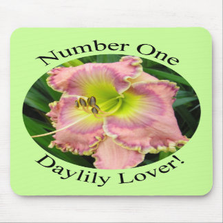 #1 Daylily Lover Mousepad