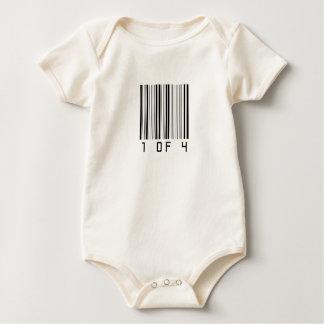 1 de 4 mameluco de bebé