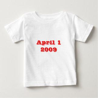 1 de abril de 2009 t shirts