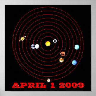 1 DE ABRIL DE 2009 PÓSTER