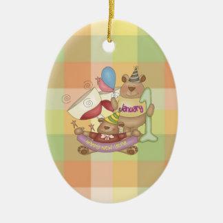 1 de enero ornaments para arbol de navidad