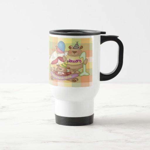 1 de enero taza de café