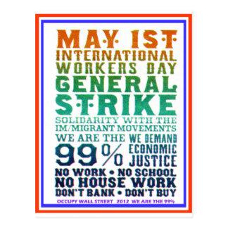 1 de mayo el día internacional de los trabajadores postal
