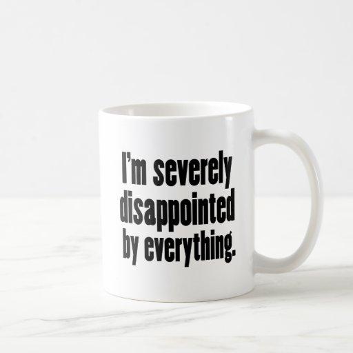 1 decepcionado taza