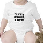 1 decepcionado traje de bebé