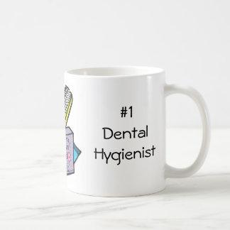 #1 Dental Hygienist Classic White Coffee Mug