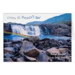 1. Día impresionante del St Patty de Irlanda de la Tarjeta De Felicitación