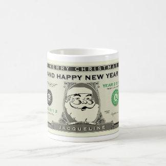 1$ divertidos Santa, Año Nuevo y navidad asaltan Taza De Café