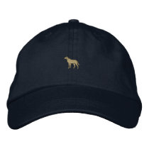 "1"" Dog Embroidered Baseball Cap"