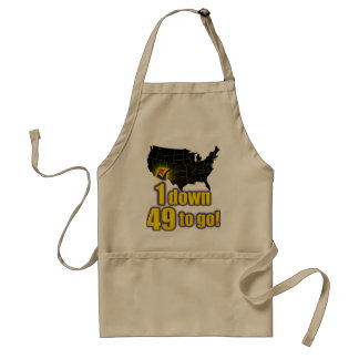 1 down, 49 to go! - Arizona Immigration Adult Apron