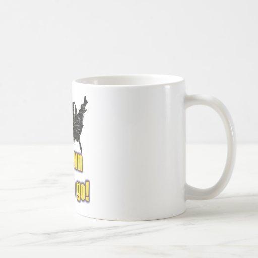 1 down, 49 to go! - Arizona Immigration Coffee Mug