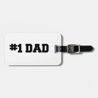 #1 el día de padre feliz del papá el | del número  etiquetas bolsas